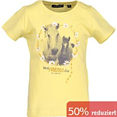 Blue Seven Single-Jersey Kinder-T-Shirt