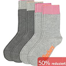 Skechers Kinder-Socken im 4er-Pack
