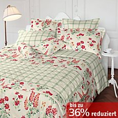Laura Ashley Mako-Satin Wendebettwäsche