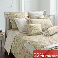 Laura Ashley Mako-Satin Nackenrollenbezug