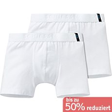 Schiesser Single-Jersey Jungen-Pants im 2er-Pack