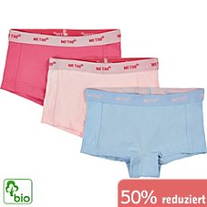 Me too Single-Jersey Bio Mädchen-Pants im 3er-Pack