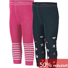 Sterntaler Kinder-Leggings im 2er-Pack