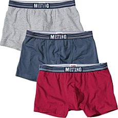 Mustang Single-Jersey Pants im 3er-Pack