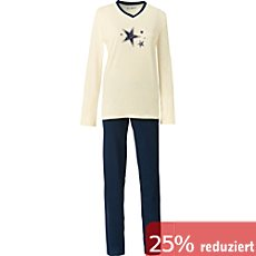 REDBEST Single-Jersey Damen-Schlafanzug.