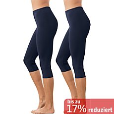 Erwin Müller Single-Jersey Capri-Leggings im 2er-Pack
