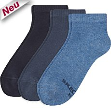 Skechers Quarter-Socken im 3er-Pack