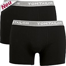 Tom Tailor Single-Jersey Pants im 2er-Pack