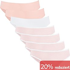 REDBEST Single-Jersey Damen-Slip im 7er-Pack