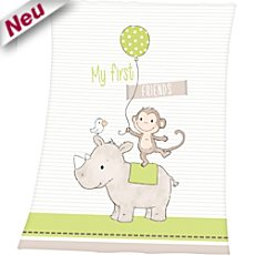 Herding Fleece Babydecke
