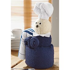 Towel gift set, chef