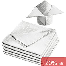 Erwin Müller jacquard 6-pack napkins incl. embroidery Dortmund