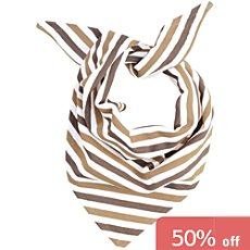 Neck scarf with to tie