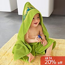 Erwin Müller hooded bath towel