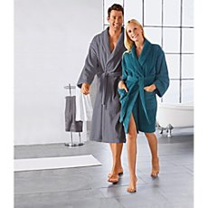 Erwin Müller unisex bathrobe, short