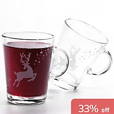 2-pack mulled wine glasses