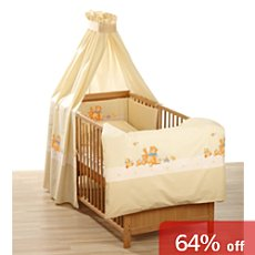 Alvi 4-pc cot bedding set