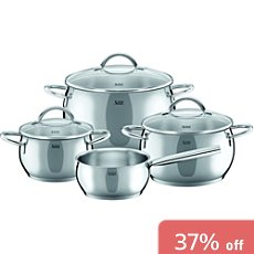 Silit  cooking pot set, 7-parts