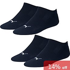 Pack of 2 Puma sneaker socks