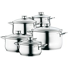 WMF  cooking pot set, 10-parts
