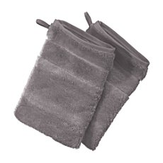 Pack of 2 Cawö full terry wash mitts