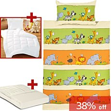 Erwin Müller 5-pc toddler bedding set