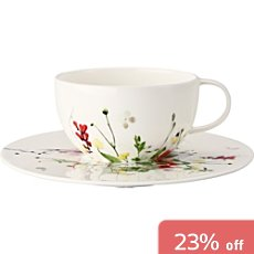 Rosenthal 2-pc cappuccino set, Selection Fleurs Sauvages
