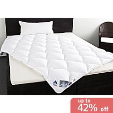 Irisette duo quilted duvet,