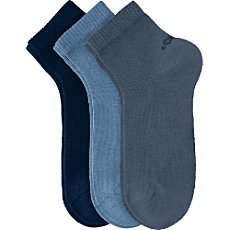 Pack of 3 s. Oliver quarter socks