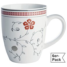 Pack of 6 Gepolana coffee mugs