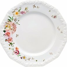 Rosenthal Selection Maria Pink Rose dinner plate