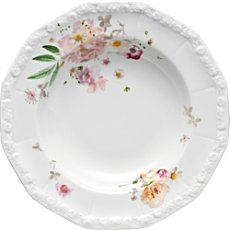 Rosenthal Selection Maria Pink Rose soup plate