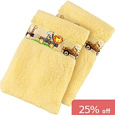 Pack of 2 Baby Butt wash mitts