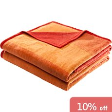 Pack of 2 Erwin Müller blankets