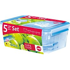 Emsa 5-pc food storage set