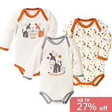 Pack of 3 Baby Butt bodysuits