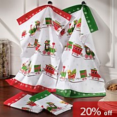 Pack of 4 Erwin Müller tea towels
