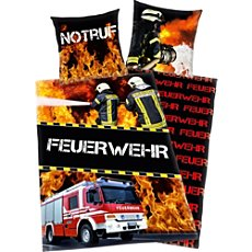 Herding Renforcé duvet cover set, firefighter