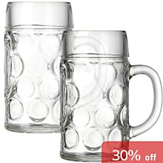 2-pack beer mugs