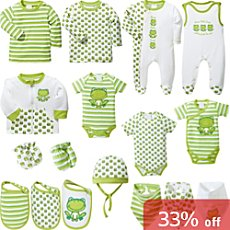 Baby Butt 17-pc newborn essential kit