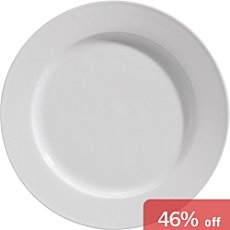 Pack of 6 flat plates