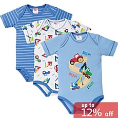 Baby Butt  3-pack bodysuits