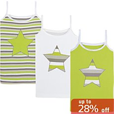 Kinderbutt  3-pack vests