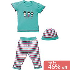 Kinderbutt 3-pc baby clothing set
