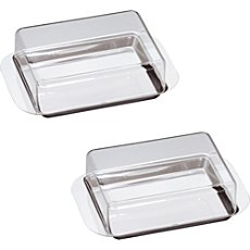 2-pack butter dishes