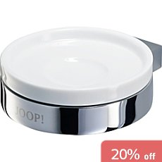 Joop!  wall mounted soap dish Chromeline