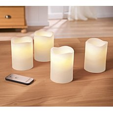 4-pack LED candle set