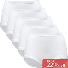 Schöller  5-pack full brief panties
