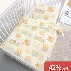 3-pc cot duvet cover set