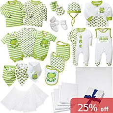 Baby Butt 37-pc newborn essential kit